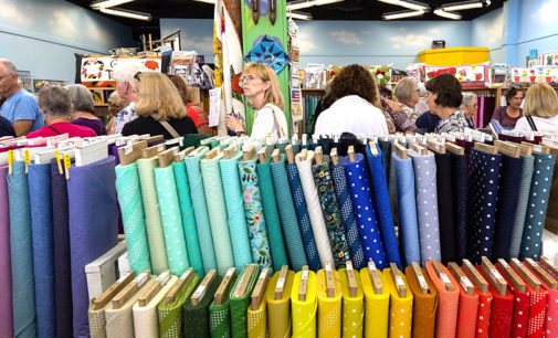 Local quilt shop Minding My P's & Q's celebrates new expansion