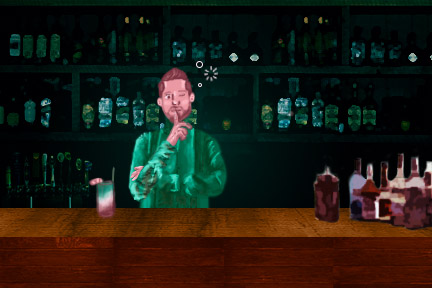 Bartending may allow for excessive drinking habits to form