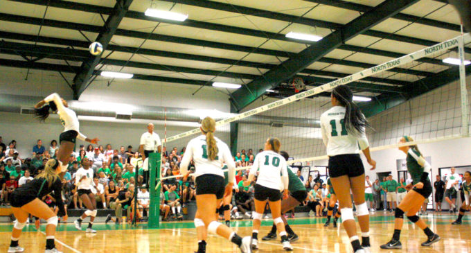 Mean Green volleyball head into conference following struggling start to season