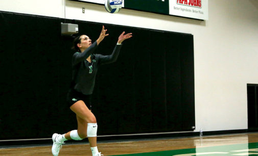 Karley York may be almost done with her volleyball career at UNT, but her presence will be felt forever