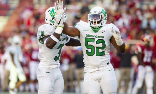 North Texas routs the Razorbacks, defeats SEC opponent for first time in 41 years