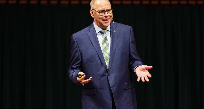 UNT President presents year's highlights, new developments at State of the University address
