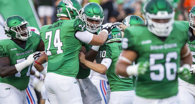 North Texas falters in 52-13 loss in New Mexico Bowl