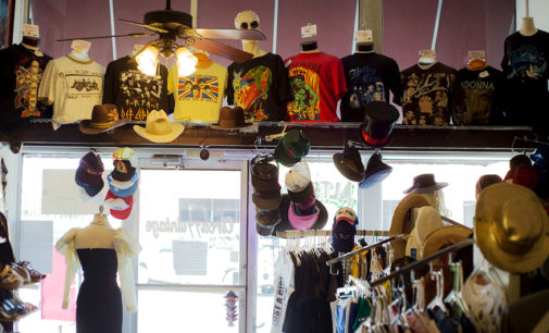 Denton's local stores offer secondhand glamour
