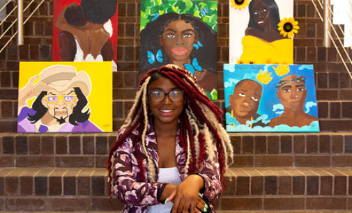 Kiasi's Kreations reflects black community through art