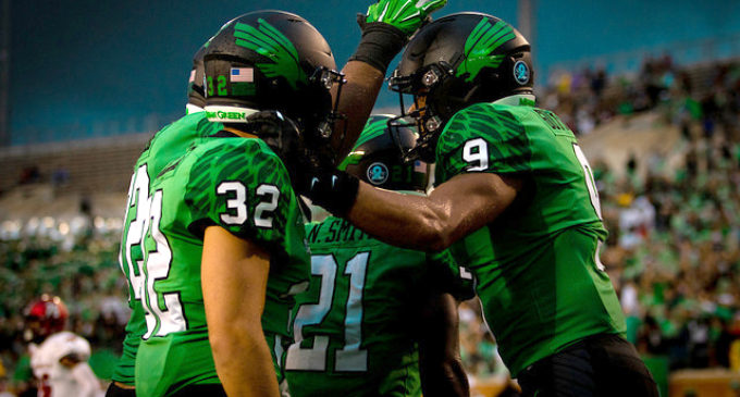 Mean Green travel to Arkansas to protect unbeaten record
