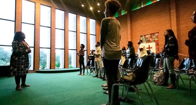 Voices of Praise members uplift each other through worship