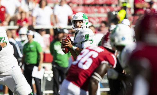 North Texas backfield overcoming size