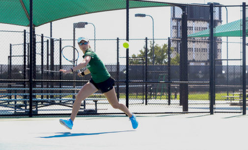 Kutubidze, Kononova highlight opening weekend for Mean Green tennis