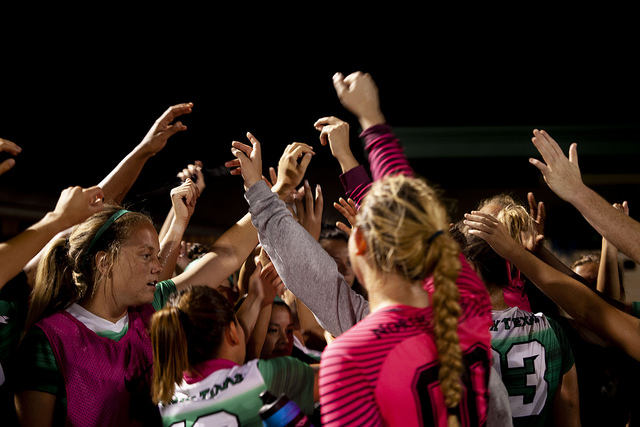 North Texas soccer holds on to beat Rice 1-0 in battle for first in C-USA