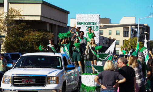 Homecoming parade celebrates diversity of UNT organizations