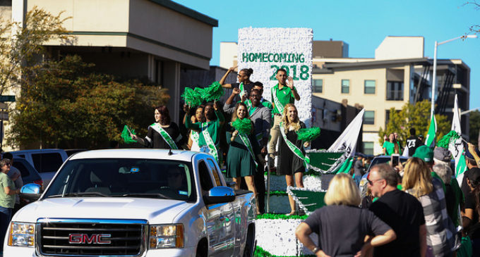Homecoming parade celebrates diversity of UNT organizations