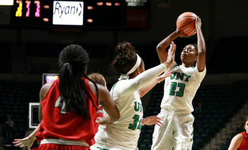 Mean Green women's basketball set their hopes high for the new season