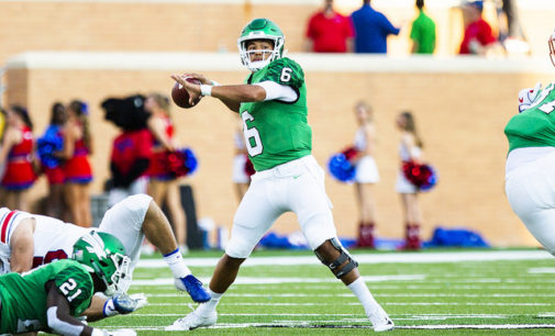 Mean Green quarterbacks compete for belt on Fridays