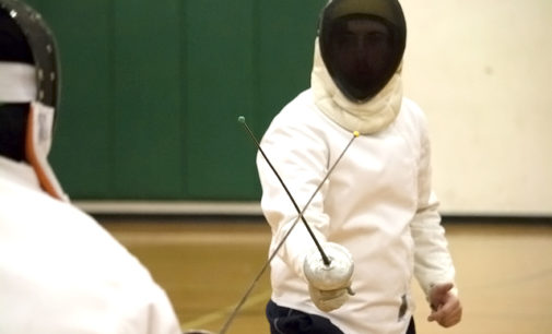 A sneak peek at the UNT club fencing team