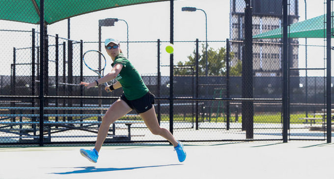 North Texas tennis team recruits internationally to compete nationally