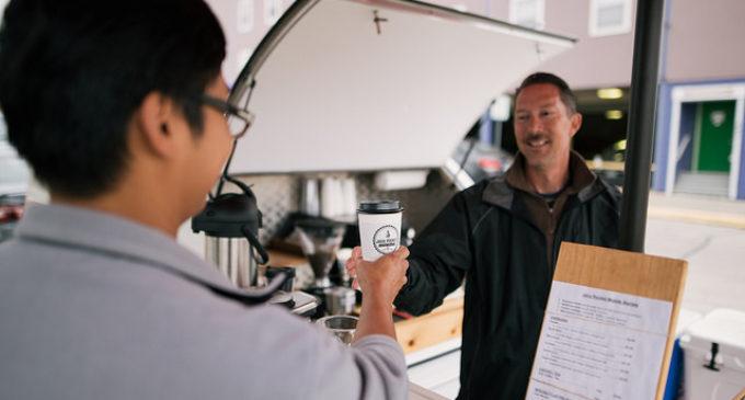 Mobile coffee shop Java Rocket blasts off with caffeine, community