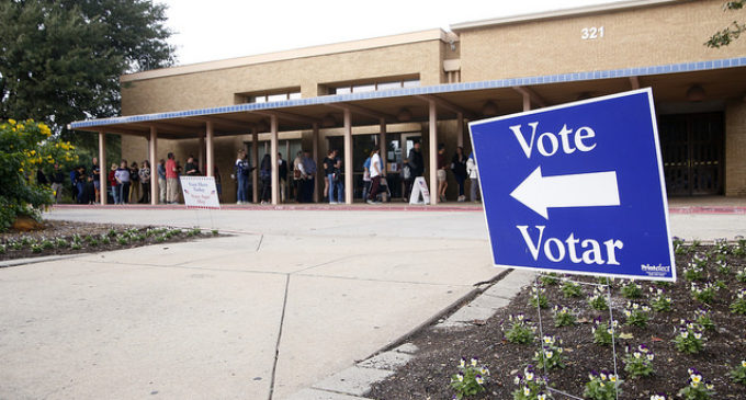 Record turnout of early voters continues in first three days