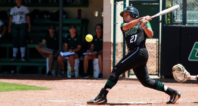 Mean Green softball wraps up first fall season under DeLong