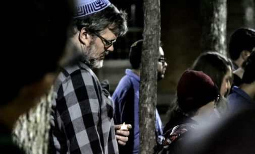 Jewish student organization, fraternity host on-campus vigil in wake of Pittsburgh synagogue mass shooting