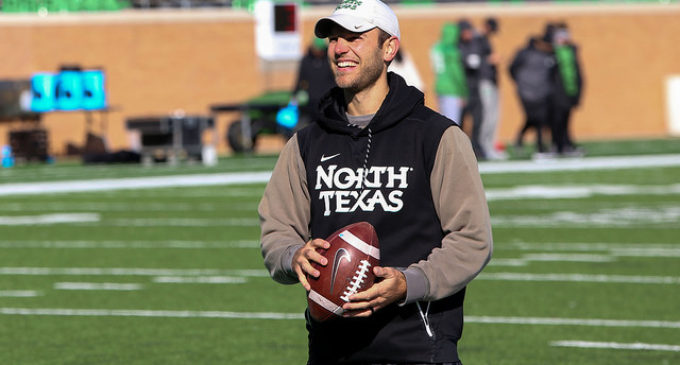 Harrell uses past experience to guide Mean Green offense