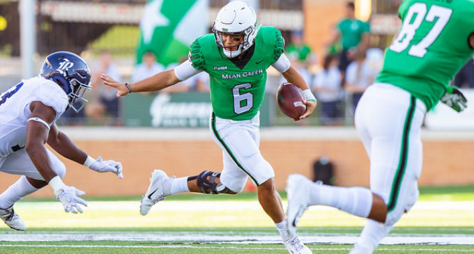 Despite missing out on a conference championship, the Mean Green football team is still a success