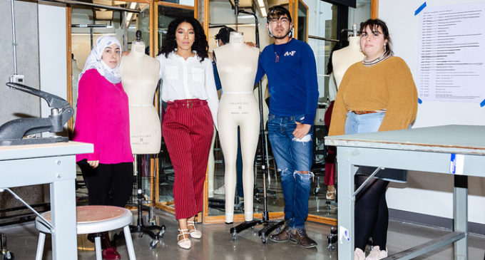 Fashion design students learn how to make it work in rigorous program