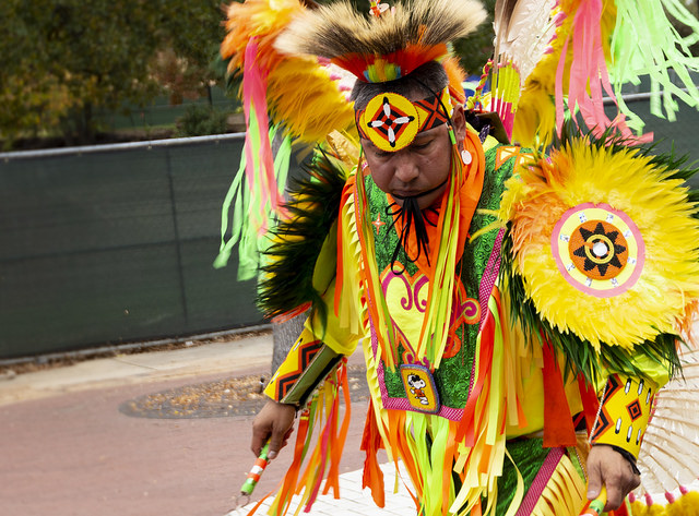 Native American Student Association kicks off heritage month with traditional performances