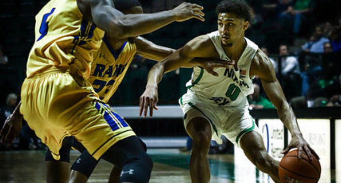 Mens basketball takes down Angelo State Rams in season opener