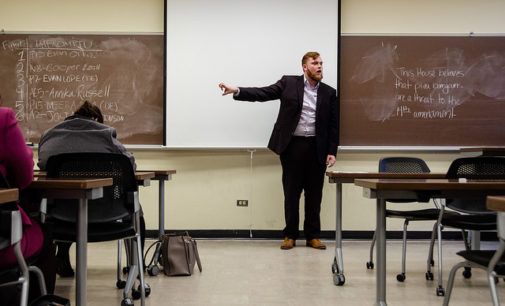 UNT debate team encourages campus conversation despite budget cuts