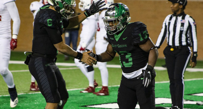 Mean Green finish home schedule with win against Owls