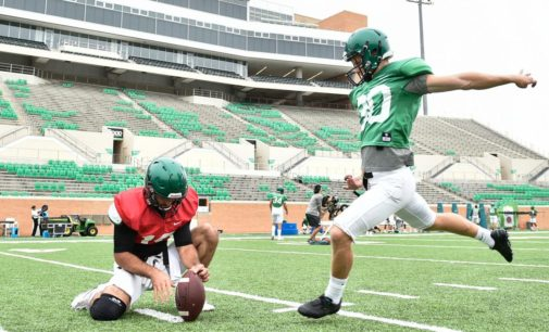 Hedlund thriving under North Texas football culture