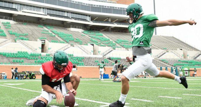 Hedlund thriving under North Texas football culture