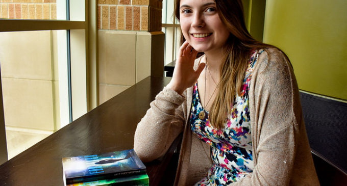 UNT student creates a world of her own with self-published science-fiction books