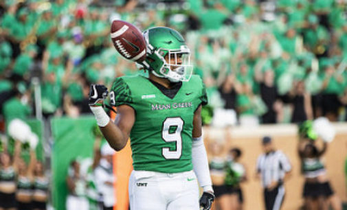 Jalen Guyton first to declare for Draft from North Texas