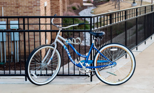More than 200 bicycles were impounded last June by UNT Transportation Services