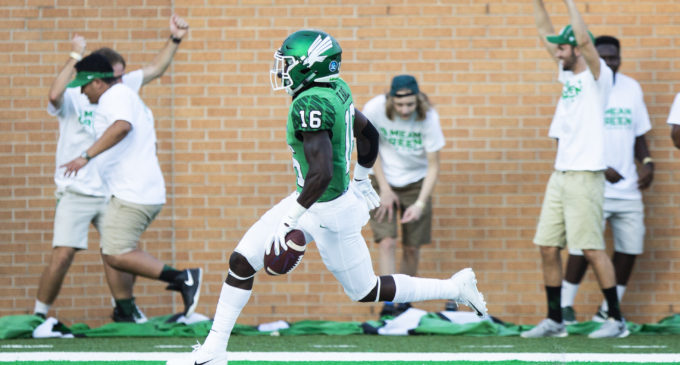 North Texas alumni show out in NFLPA Collegiate Bowl