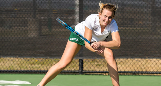 Mean Green tennis starts conference play with long home stand