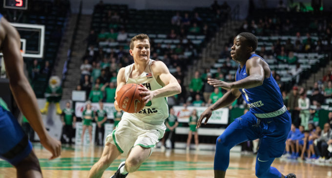 Men's basketball takes fourth loss of season to Old Dominion