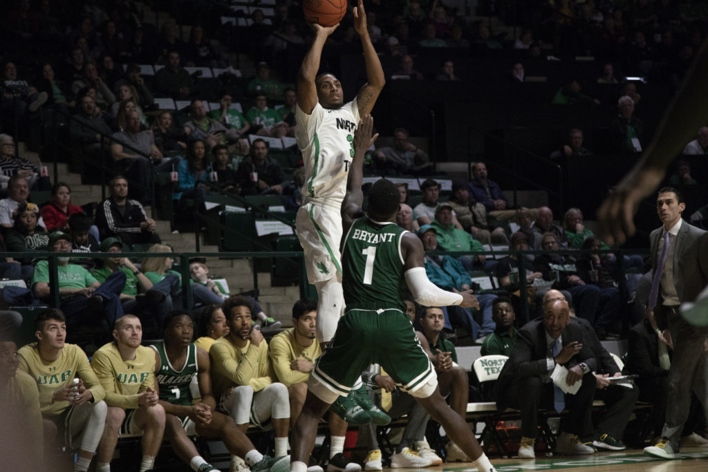 Home streak ends against Alabama-Birmingham – North Texas ...