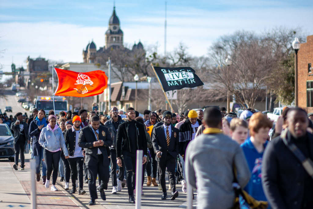 Hundreds turn out for MLK Day March