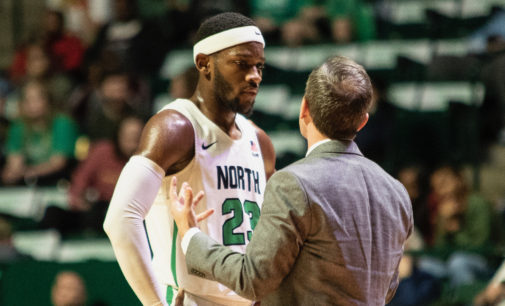 Mean Green edge out Mavericks for tenth straight victory at home