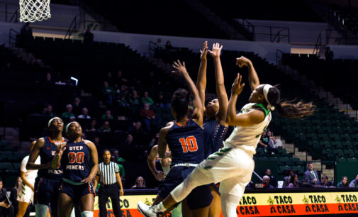 Mean Green women earn win No. 50 under Mitchell