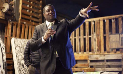 City Council member Gerard Hudspeth kicks off re-election campaign for District 1