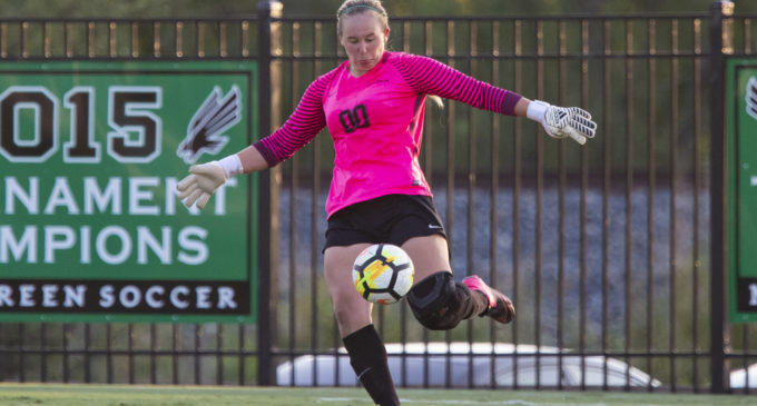Transfer goalkeeper shines in her first season at North Texas