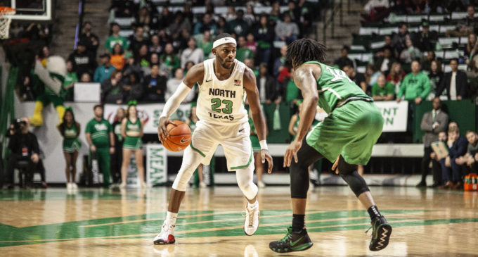Mean Green catch fire from deep in 20th win over Marshall