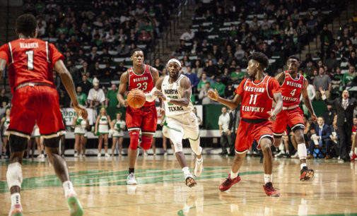North Texas loses last home game against Western Kentucky