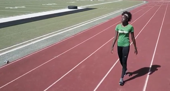 From Anguilla to Texas – Junior track and field sprinter Artesha Richardson
