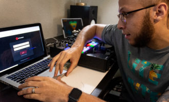 DJ LiTEBRiTE shines in and out of local music scene