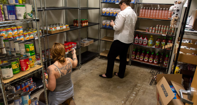On-campus food pantry creating $20 meal plan